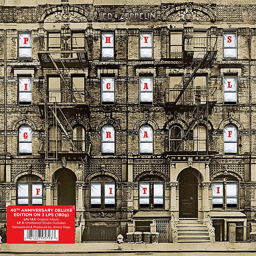 LED ZEPPELIN 3xLP Physical Graffiti (Deluxe Edition Remastered)