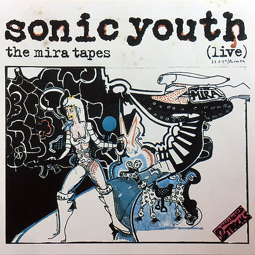 SONIC YOUTH CD The Mira Tapes (Live)