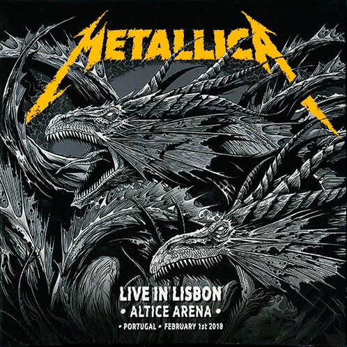 METALLICA 2xCD Live In Lisbon • Altice Arena • Portugal • February 1st