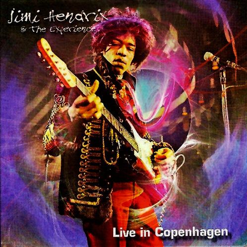 JIMI HENDRIX CD Live In Copenhagen (Digipack)