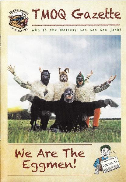 BEATLES 2xCD+BOOK We Are The Eggmen! (Rarities)