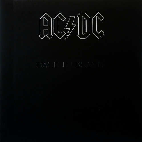 AC/DC LP Back In Black (Remastered 180 gram vinyl)
