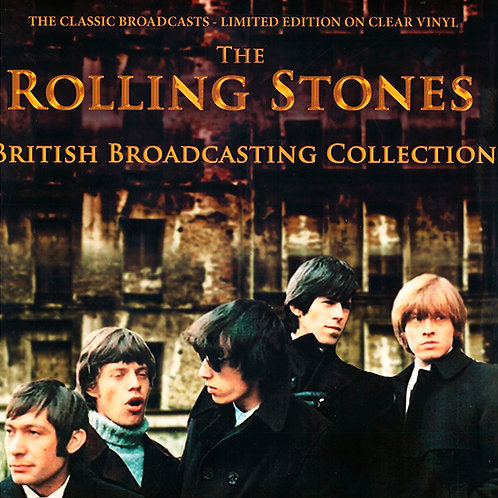 ROLLING STONES LP British Broadcasting Collection (Clear Vinyl Edition)