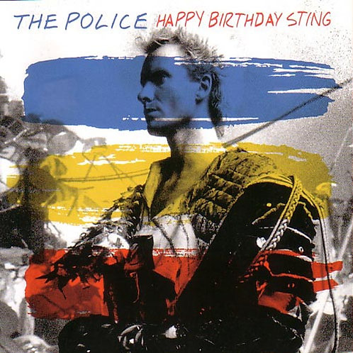 POLICE CD Happy Birthday Sting (Live Barcelona)