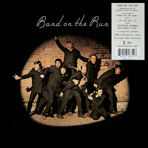 PAUL McCARTNEY & WINGS LP Band On The Run (Remastered)
