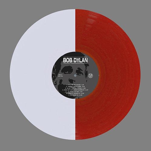 BOB DYLAN LP First Album (White Red Coloured Vinyl)