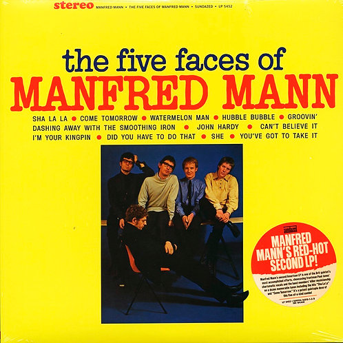 MANFRED MANN LP The Five Faces Of Manfred Mann