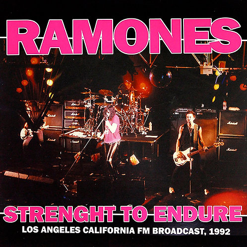 RAMONES LP Strenght to Endure