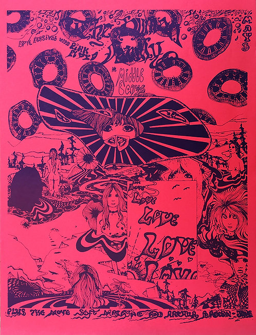 PINK FLOYD POSTER Middle Earth Club