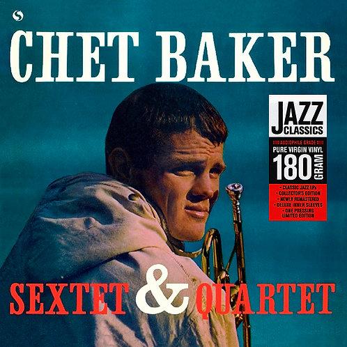 CHET BAKER LP Sextet & Quartet (180 Gram Audiophile Vinyl)