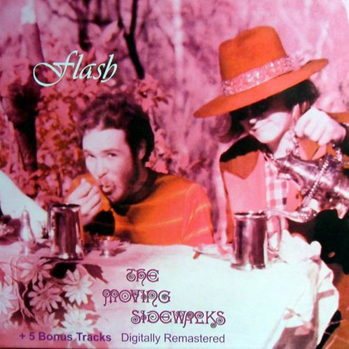 THE MOVING SIDEWALKS CD Flash + 5 Bonus Tracks