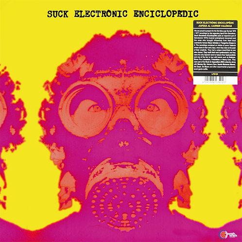 SUCK ELECTRONIC ENCICLOPEDIC LP Asfíxia Al Carrer València (Silver Metal Cover)