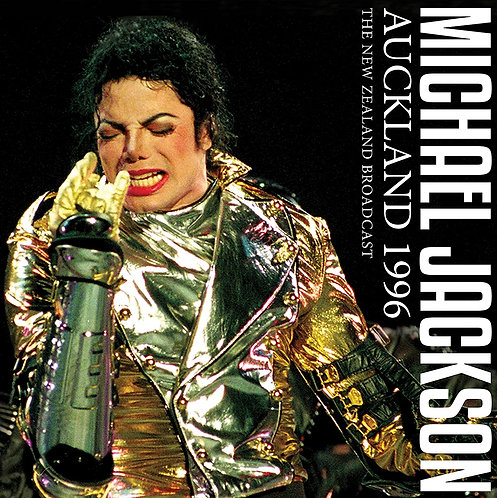 MICHAEL JACKSON 2xLP Auckland 1996 - The New Zealand Broadcas