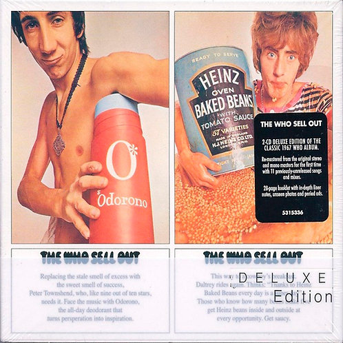 THE WHO 2xCD Sell Out (Deluxe Edition)