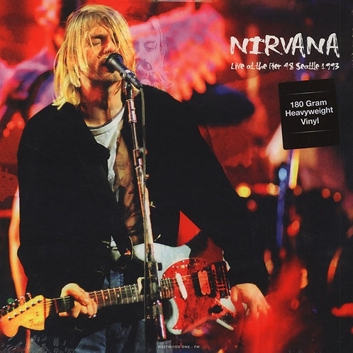 NIRVANA LP Live At The Pier Seattle 1993