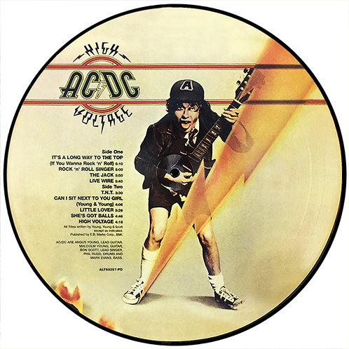 AC/DC LP High Voltage (Picture Disc)