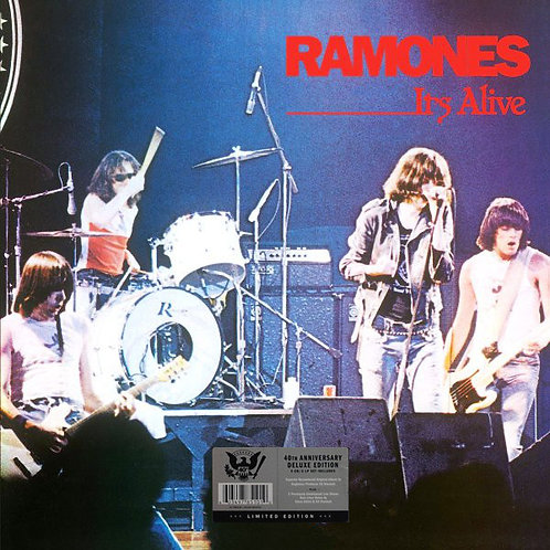 RAMONES BOX SET 2xLP+4xCD It's Alive (40th Anniversary Deluxe Edition)