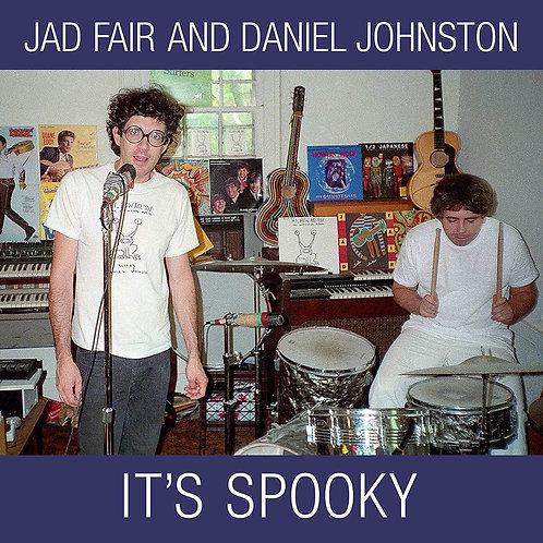 "JAD FAIR AND DANIEL JOHNSTON 2xLP+7"" FLEXI It's Spooky (Casper White Coloured)"