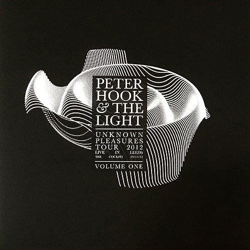 PETER HOOK & THE LIGHT LP Unknown Pleasures Tour 2012 Live In Leeds Volume One