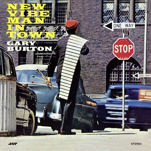 GARY BURTON LP New Vibe Man In Town