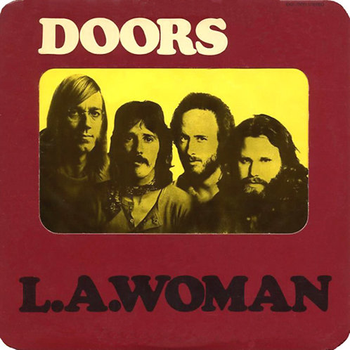THE DOORS LP L.A. Woman (Rounded Corners)