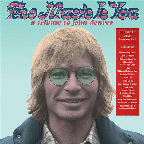 VARIOS 2xLP The Music Is You: A Tribute To John Denver