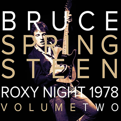 BRUCE SPRINGSTEEN 2xLP Roxy Night 1978 Volume Two (Red & White Coloured Vinyl)