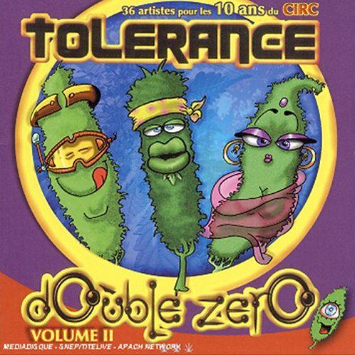VARIOUS 2xCD Tolerance Double Zero Volume 2
