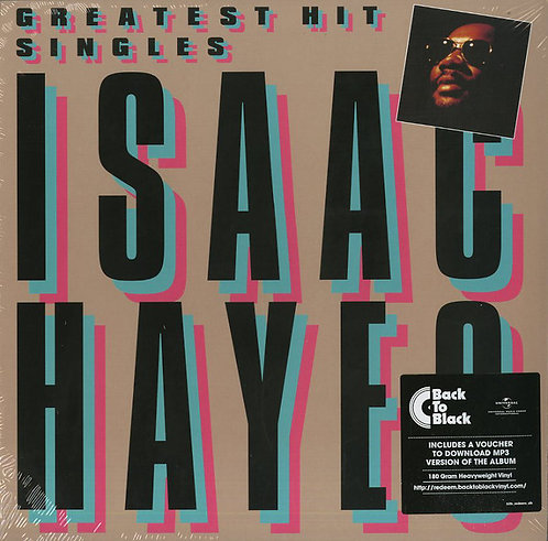 ISAAC HAYES LP Greatest Hit Singles