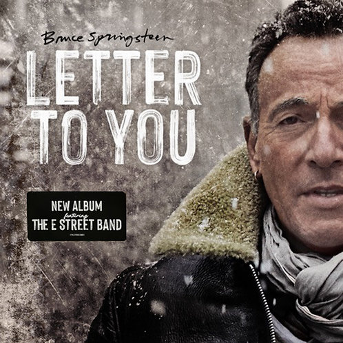 BRUCE SPRINGSTEEN 2XLP Letter To You
