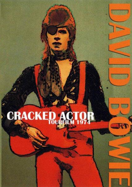 DAVID BOWIE DVD Cracked Actor Tourfilm 1974