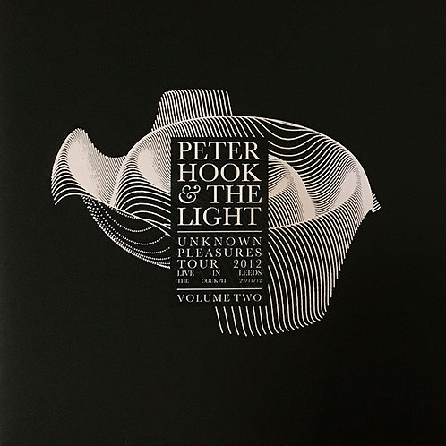 PETER HOOK & THE LIGHT LP Unknown Pleasures Tour 2012 Live In Leeds Volume Two