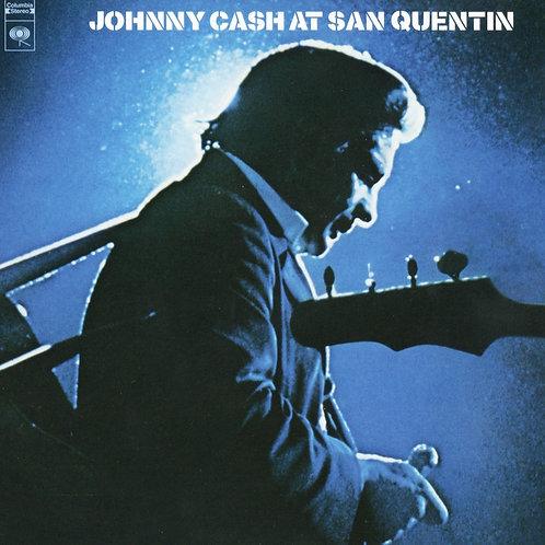 JOHNNY CASH LP Johnny Cash At San Quentin