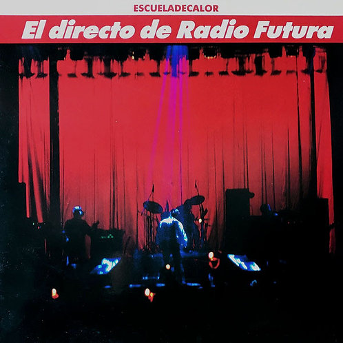 RADIO FUTURA 2xLP El Directo De Radio Futura (Orange Coloured Vinyls)