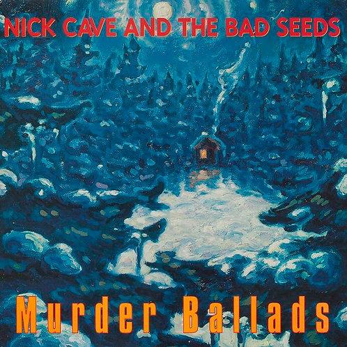 """NICK CAVE LP Murder Ballads (Comes with insert """"Murder Ballads Bulletin"""")"""
