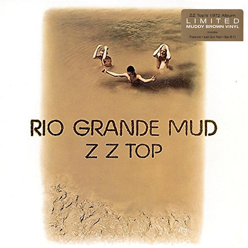 ZZ TOP LP Rio Grande Mud (Muddy Brown Coloured Vinyl)