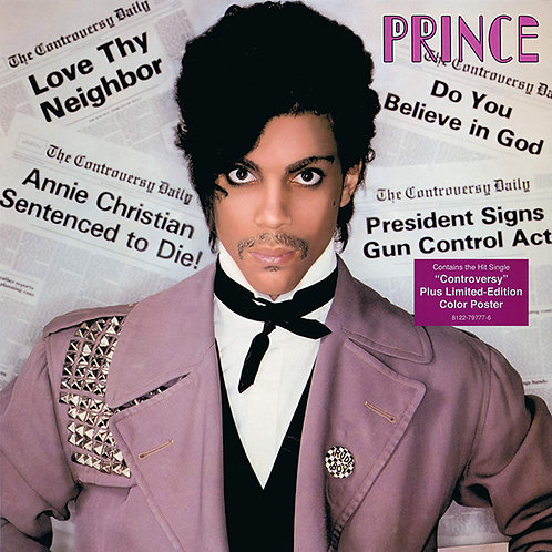 PRINCE LP Controversy (with large fold-out poster)