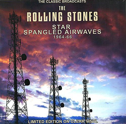 ROLLING STONES LP Star Spangled Airwaves 1964-66 (Clear Coloured Vinyl)