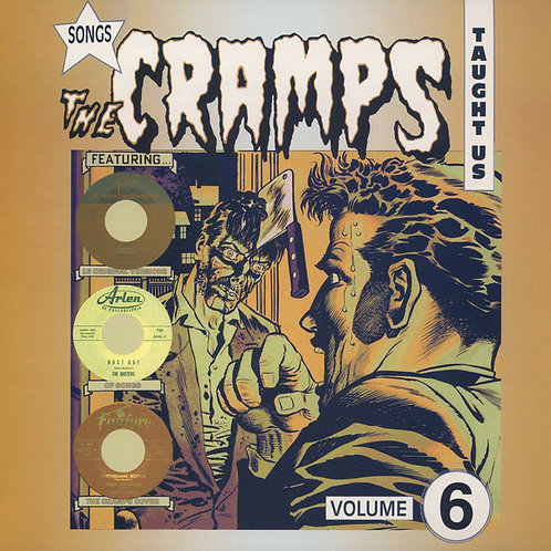 VARIOS LP Songs The Cramps Taught Us Volume 6