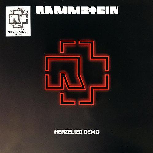 RAMMSTEIN LP Herzeleid Demo Herzelied (Silver Coloured Vinyl)
