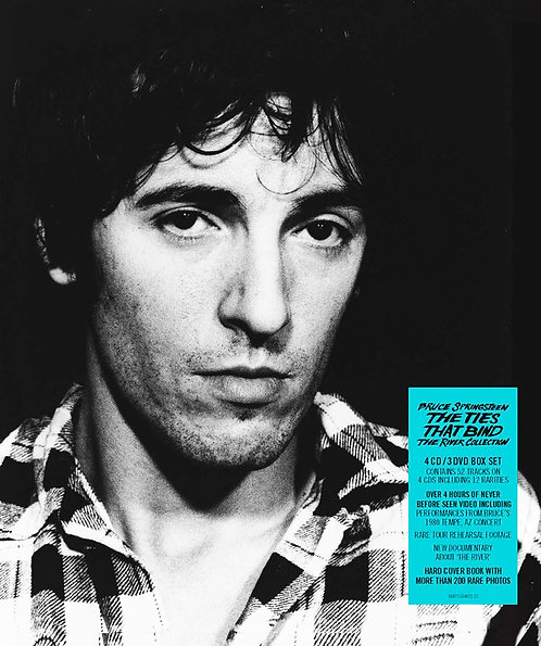 BRUCE SPRINGSTEEN BOX SET 4xCD+3xDVD The Ties That Bind: The River Collection