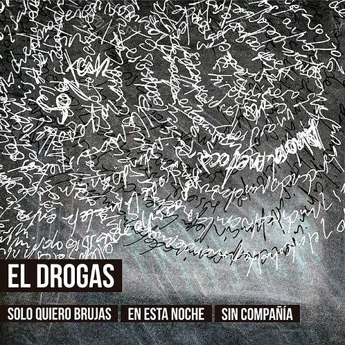 EL DROGAS BOX SET 5xCD Solo Quiero Brujas En Esta Noche Sin Compañia