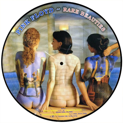 PINK FLOYD LP Rare Beauties (Picture Disc)