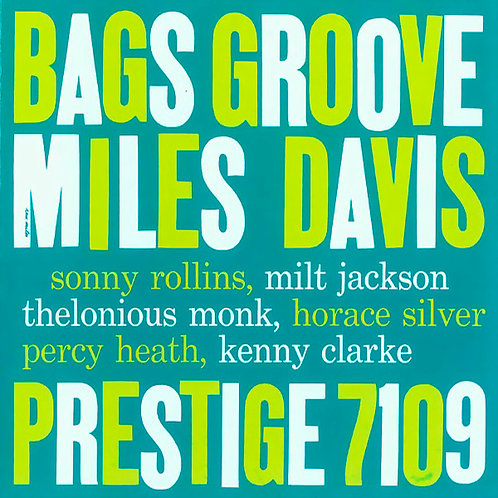 MILES DAVIS CD Bags Groove (RVG Remasters)