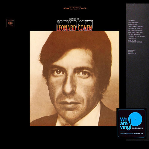 LEONARD COHEN LP Songs Of Leonard Cohen