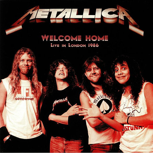 METALLICA LP Welcome Home, Live In London 1986