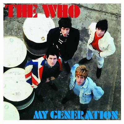 THE WHO CD  My Generation • Mono Edition
