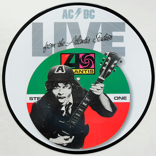 AC/DC LP Live From The Atlantic Studios (Picture Disc)