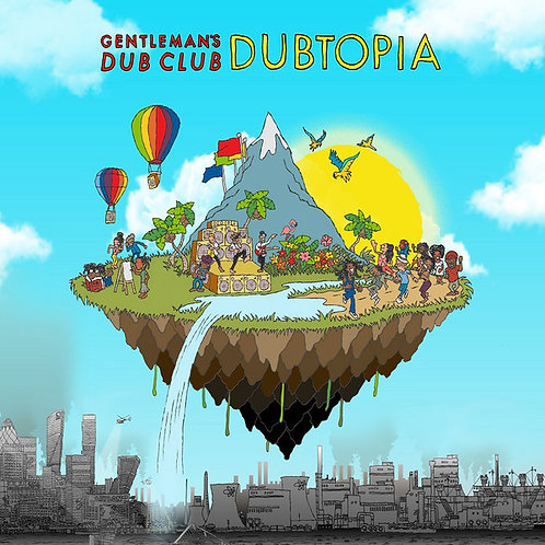 GENTLEMAN'S DUB CLUB LP Dubtopia (Clear Coloured Vinyl)