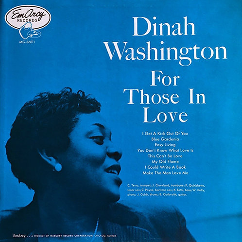 DINAH WASHINGTON LP For Those In Love